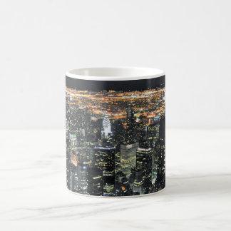 New York night skyline Coffee Mugs