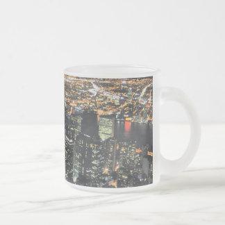 New York night skyline Mug