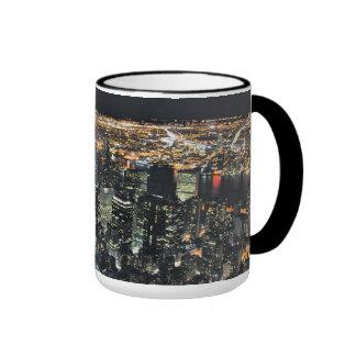 New York night skyline Coffee Mug