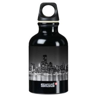 New York Night Skyline SIGG Traveler 0.3L Water Bottle