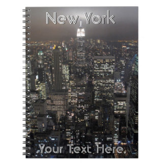 New York Notebook Personalized NY Souvenir Journal