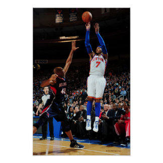 NEW YORK NY - FEBRUARY 22 Carmelo Anthony 7 Poster