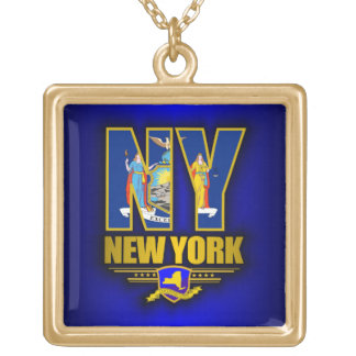 New York (NY) Gold Plated Necklace