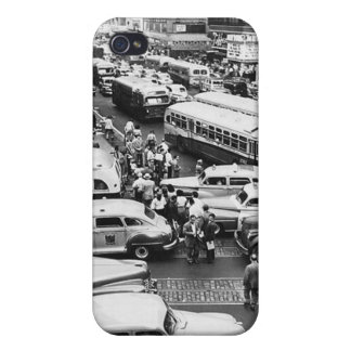 New York NY in the mid 1940s iPhone 4/4S Covers