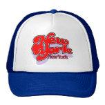 New York NY openswoop cap Mesh Hats