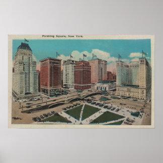 New York, NY - Perishing Square Poster