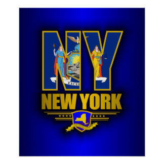 New York (NY) Poster