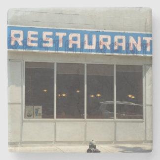 New York, NY Restaurant Stone Coaster