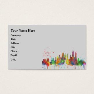 NEW YORK, NY SKYLINE - Business cards