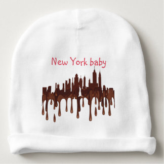 NEW YORK, NY SKYLINE CH - BABY BEANIE