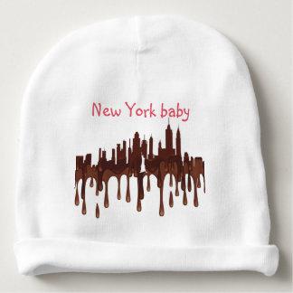 NEW YORK, NY SKYLINE CH - BABY BEANIE