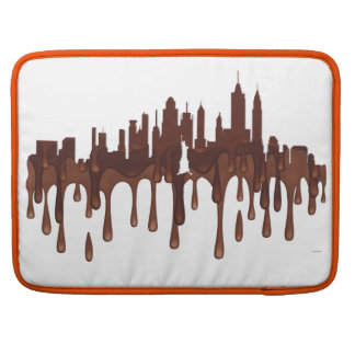 NEW YORK, NY SKYLINE CH - MacBook PRO SLEEVES