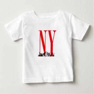 New York NY Skyline Logo Design Shirts