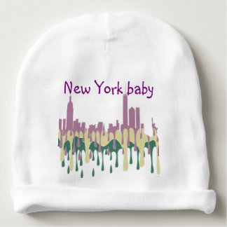 NEW YORK, NY SKYLINE PCG - BABY BEANIE