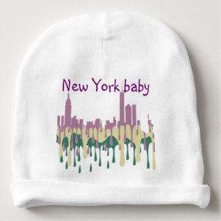 NEW YORK, NY SKYLINE PCG - BABY BEANIE