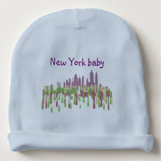 NEW YORK, NY SKYLINE PCGP - BABY BEANIE