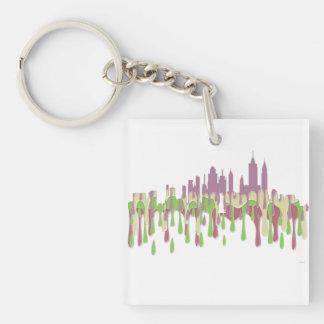 NEW YORK, NY SKYLINE PCGP - KEYCHAIN