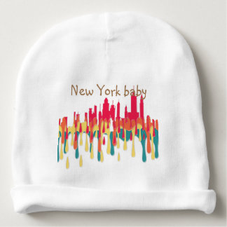 NEW YORK, NY SKYLINE RYOB - BABY BEANIE