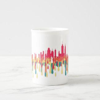 NEW YORK, NY SKYLINE RYOB - TEA CUP