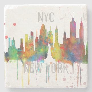 NEW YORK, NY SKYLINE - Stone Drinks Coaster Stone Coaster