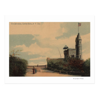 New York, NY - The Belvedere in Central Park Postcard