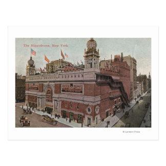 New York, NY - The Hippodrome Postcard