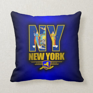 New York (NY) Throw Pillow