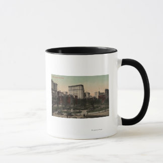 New York, NY - Union Square View, Horse Carts Mug