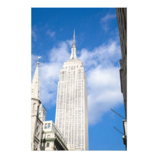 New York, NY, USA - A view of downtown New Photo Print