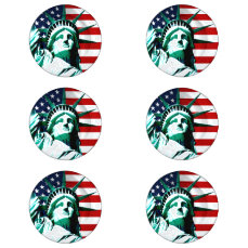 New York (NY) USA - The Statue of Liberty Button Covers