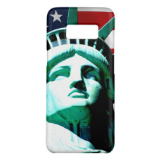 New York (NY) USA - The Statue of Liberty Case-Mate Samsung Galaxy S8 Case