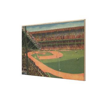 New York, NY - Yankee Stadium Canvas Print