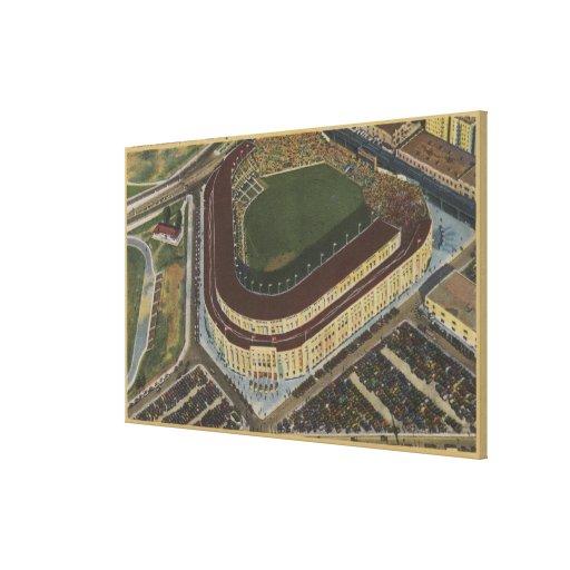 New York, NY - Yankee Stadium from the Air #1 Canvas Print