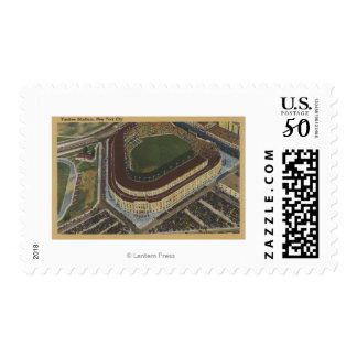 New York, NY - Yankee Stadium from the Air #1 Postage