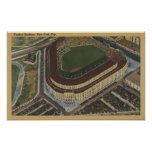 New York, NY - Yankee Stadium from the Air #1 Posters