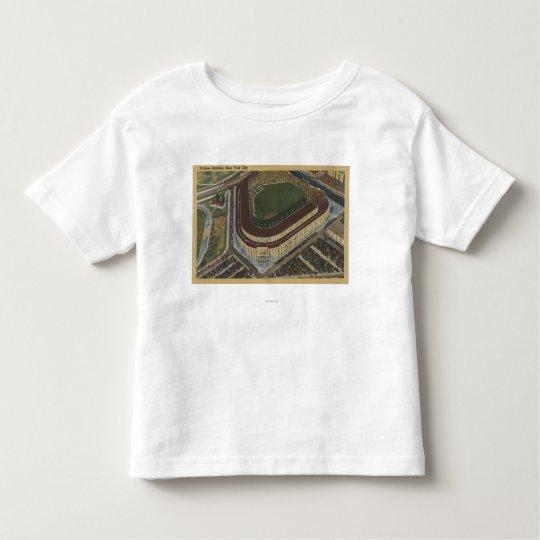 New York, NY - Yankee Stadium from the Air #1 Toddler T-shirt