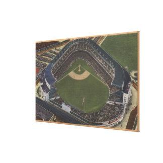 New York, NY - Yankee Stadium from the Air #2 Canvas Print