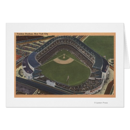 New York, NY - Yankee Stadium from the Air #2 Card