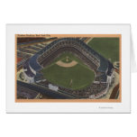 New York, NY - Yankee Stadium from the Air #2 Greeting Card
