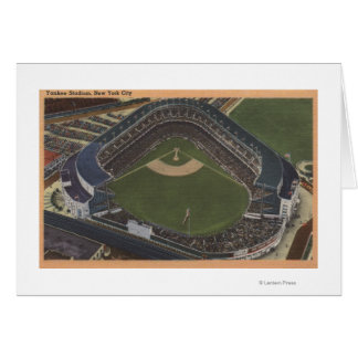 New York, NY - Yankee Stadium from the Air #2 Greeting Card