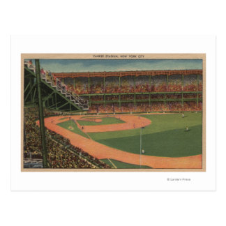 New York, NY - Yankee Stadium Postcard