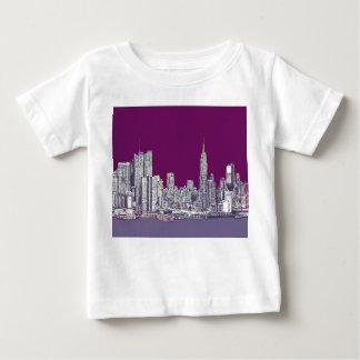 New York NYC purple Tshirt