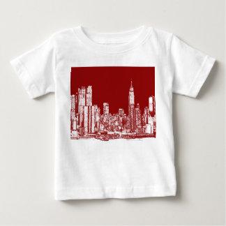 New York NYC red Tshirts