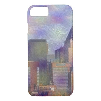 new york painted iPhone 7 case