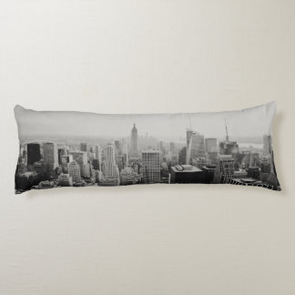 New York Panoramic Skyline Body Pillow