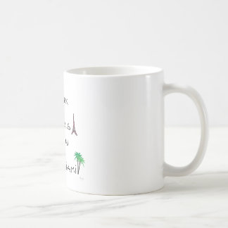 New York, Paris, London, Miami Coffee Mug