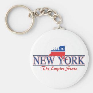 New York Patriotic Keychain