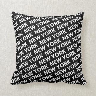 New York Pattern Pillow