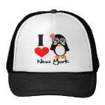 New York Penguin - I Love New York Hats