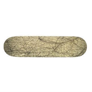 New York, Pennsylvania and Ohio Railroad Skateboard Deck